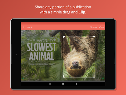 issuu: A world of magazines.- screenshot thumbnail