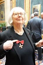 Photo: Verdienstkreuz für Inge M. SCHERER - Verleihung durch Präsident Barbara Prammer am 29.1.2014, Foto: Peter Skorepa