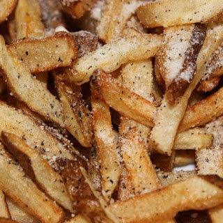 Easy Homemade French Fries.