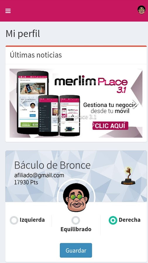 Merlim Place Store- screenshot