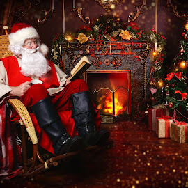 noel by Math Pink - Uncategorized All Uncategorized ( mail, year, elderly, happy, holiday, merry, santa, red, newyear, claus, cap, eve, man, event, xmas, new, christmastime, reading, portrait, christmas, people, home, traditional, looking, male )