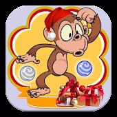 Monkey Bubble Christmas