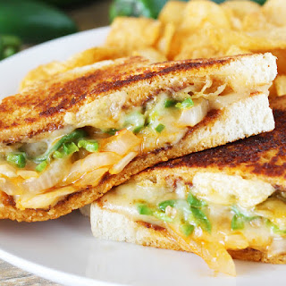 The Ultimate Spicy Grilled Cheese