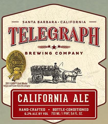 Logo of Telegraph California Ale
