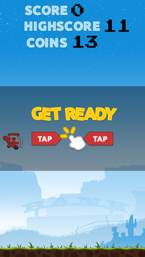 Flappy Little Plane- screenshot