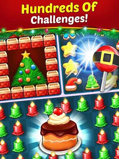 Christmas Cookie - Santa Claus's Match 3 Adventure modavailable screenshots 12