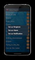 Screenshot of Ringtones Galaxy