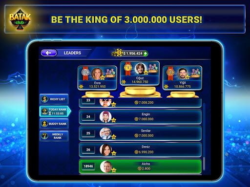 Batak Club: Online Batak Eu015fli Batak u0130haleli Batak android2mod screenshots 11