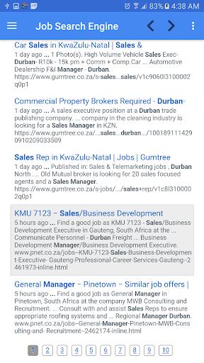 Job vacancies in South Africa 1.7 screenshots 3