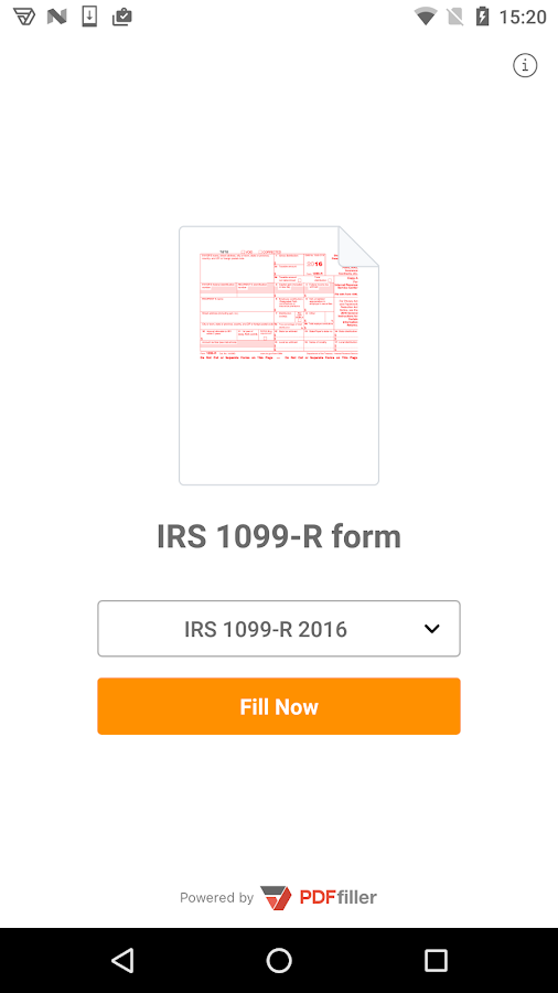 1099-R form- screenshot