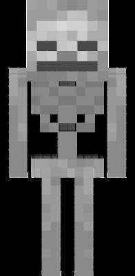 é um esqueleto bem fixolas pois é bem realista