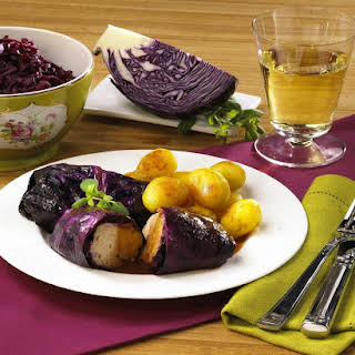 Chicken Cabbage Rolls with Potatoes.