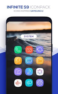 Infinite S9 Icon Pack Screenshot