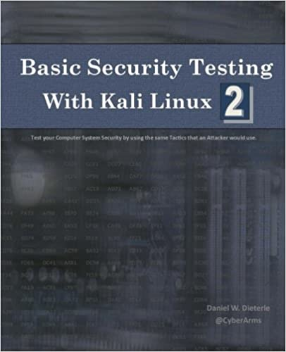 Basic Security Testing with Kali Linux 2 book cover