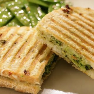 Broccoli Pesto Panini.