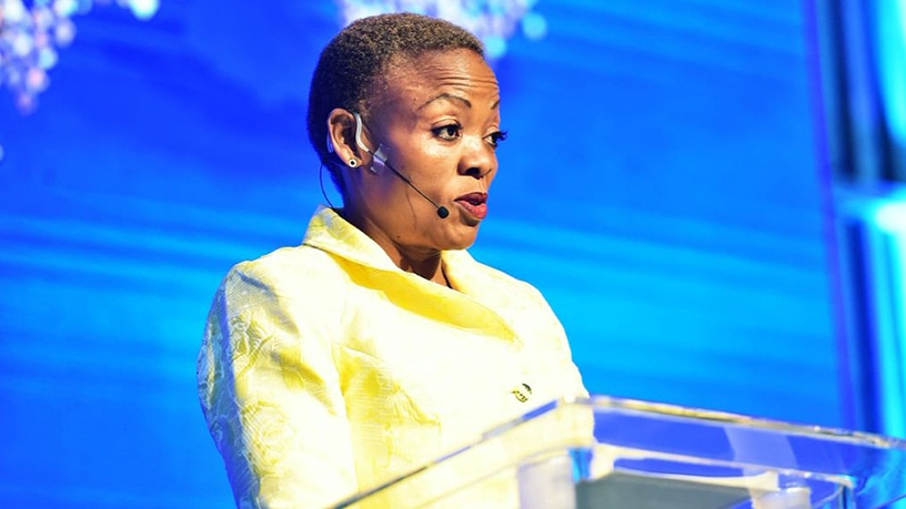 Deputy communications minister Pinky Kekana.