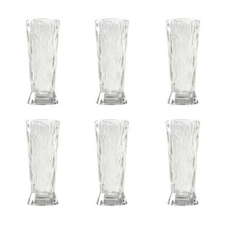 CLUB NO. 10 Ölglas 6-pack 300 ml Crystal clear