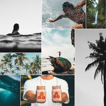 Hawaii Collage - Instagram Template