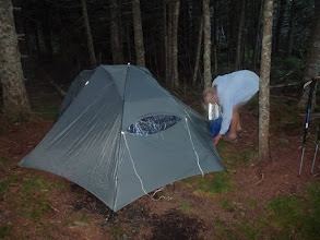 Photo: Stealth camping on Smarts Mtn.