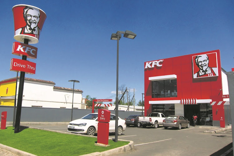 A kFC outlet.
