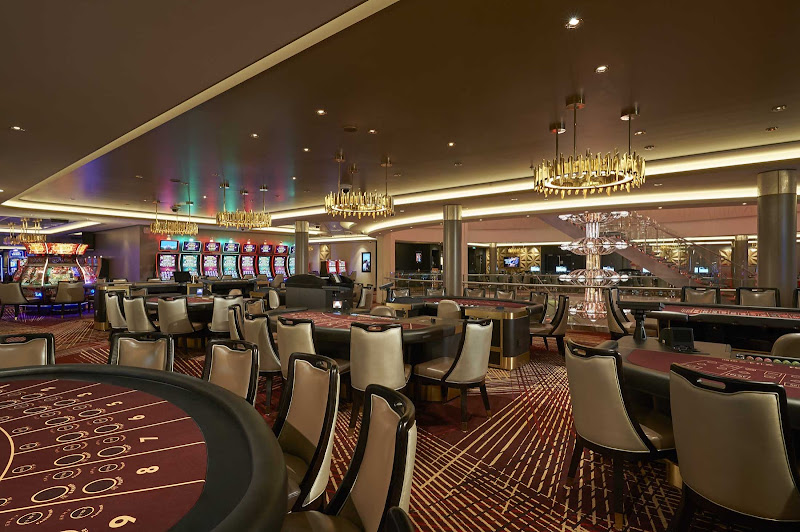 Test your gaming skills on Norwegian Joy at the Casino.