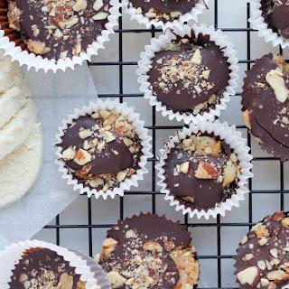 Chocolate Vegan Marzipan (Almond Paste) Cups Recipe