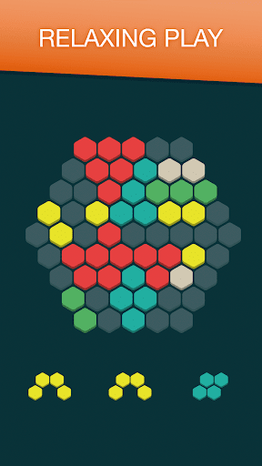 Hex FRVR - Drag the Block in the Hexagonal Puzzle  screenshots 4