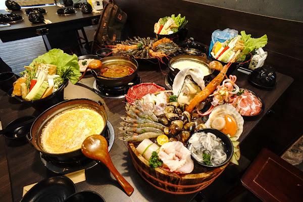 宜蘭羅東。鼎楓火鍋 | 鼎楓也有個人鍋了!來自海上的俏妞豪華拼盤+新湯頭上市
