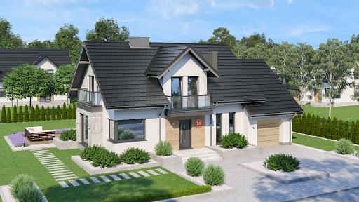 projekt Dom przy Modrzewiowej 16