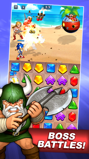 SEGA Heroes - screenshot