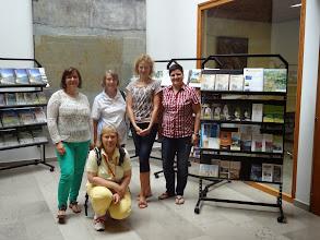 Zdjęcie: Spotkanie w Centrum Informacji Turystycznej - Tic Ajdovščina  (zdjęcie wykonane przez młodego Włocha, który gościł w schronisku młodzieżowym).