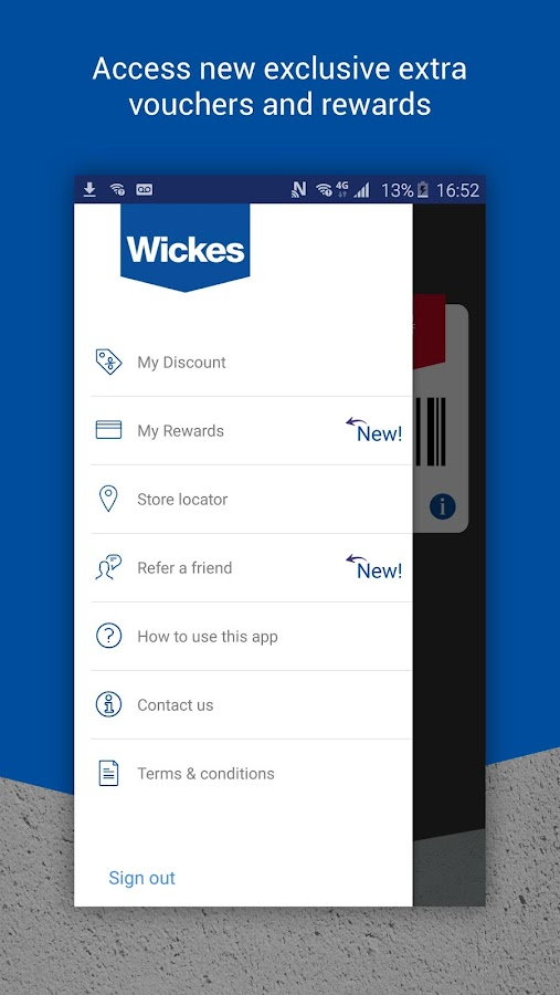 Wickes TradePro- screenshot