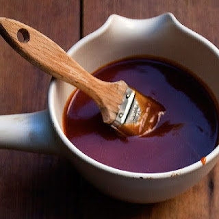 Spicy Bourbon Barbecue Sauce.