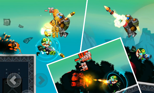 ApkMod1.Com Metal Heroes - Combat shooting action games + (Unlimited Gold/Ad-Free) for Android Action Android Game