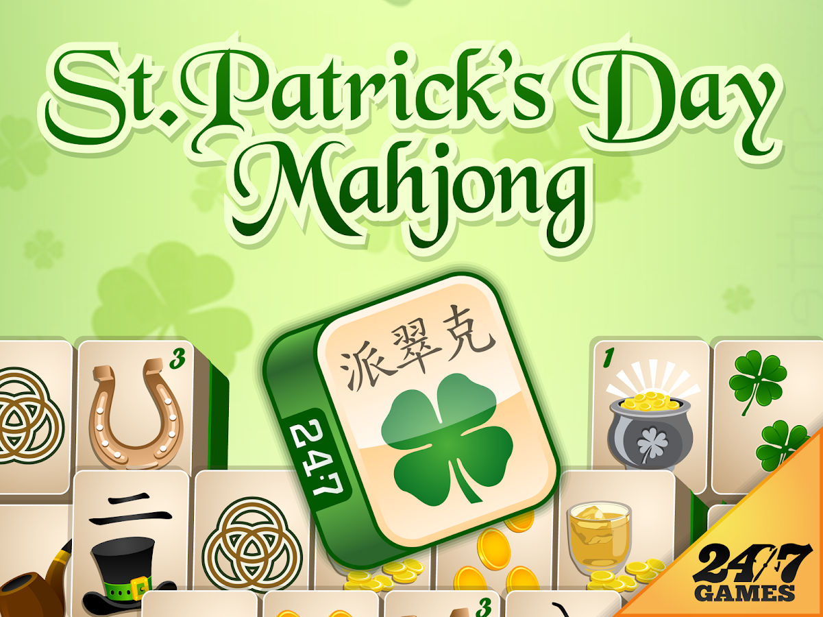 St. Patrick's Day Mahjong- screenshot