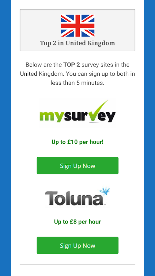 Paid Surveys - Earn Money App- screenshot