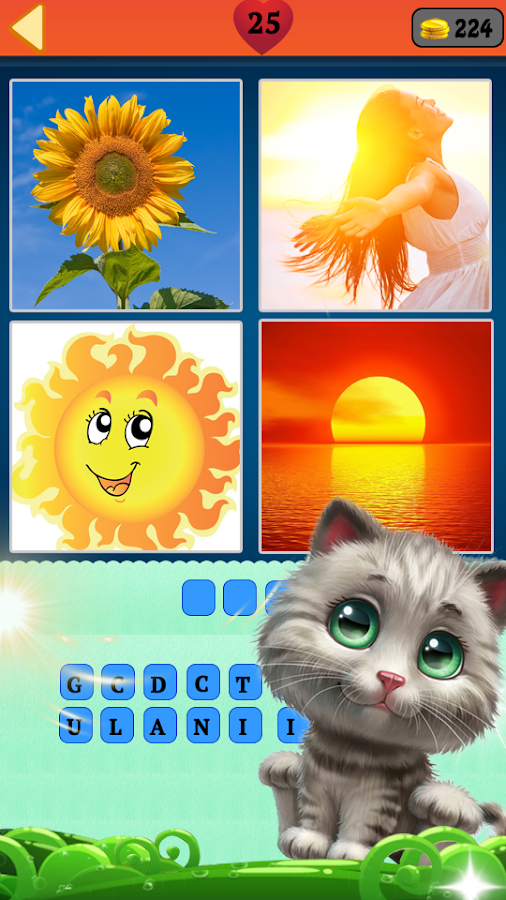 Guess the word: 4 pics 1 word- screenshot