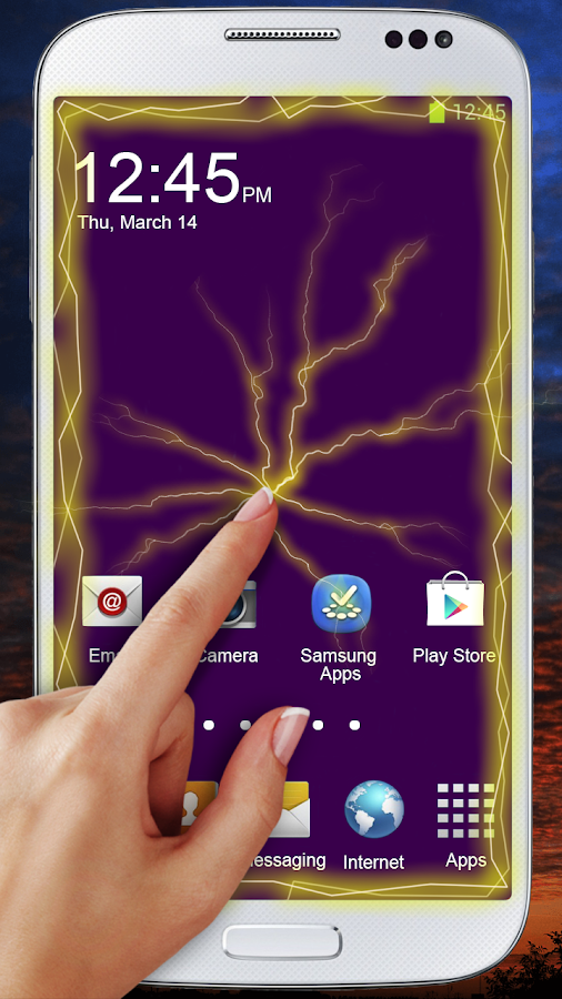 Electric Screen Live Wallpaper- screenshot