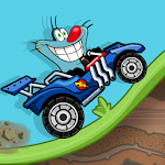 Cartoon Hill Climb Racing Icon