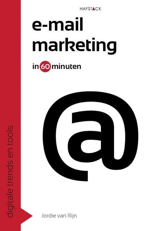 Voorbeeld boek: Email-marketing in 60 Minuten