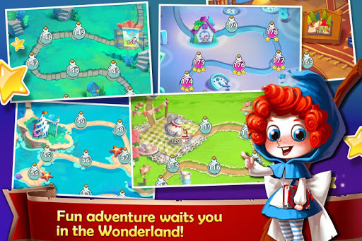 Solitaire in Wonderland - Golf Patience Card Game - screenshot