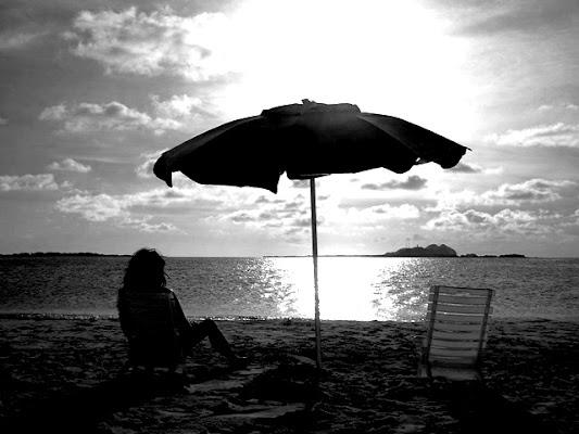 Gioco di luci ed ombre al tramonto... di nunass