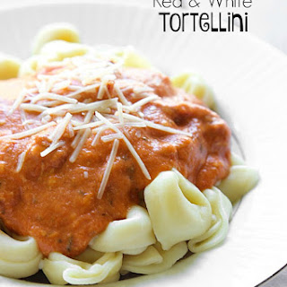 Red and White Tortellini.