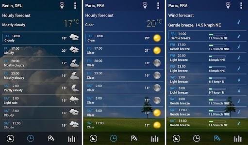 Transparent clock weather Pro v0.91.01.11