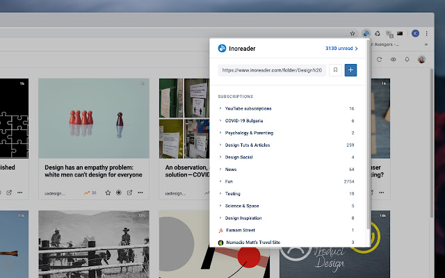 RSS Reader Extension (by Inoreader)