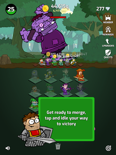 Merge Wars - Idle Hero Tycoon apkmind screenshots 9