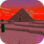 Treasure Hunt. Pyramid MCPE map!