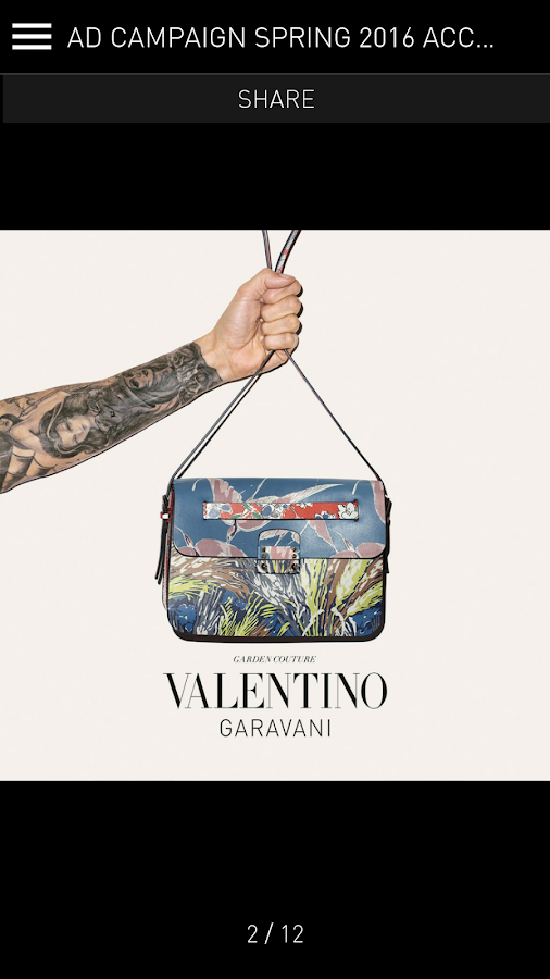 Valentino- screenshot
