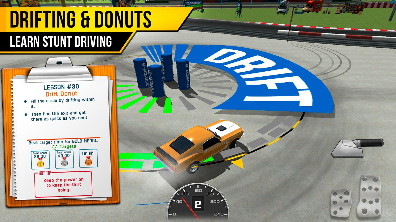 Driving school test car racing android apps on google play for Motor city driving school