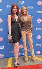 Photo: CLARKSTON, MI - AUGUST 12: Erin Cummings and Sheryl Crow (R) attend the Palace Sports and Entertainment's Come Together Celebration concert at the DTE Energy Music Theater on August 12, 2012 in Clarkston, Michigan. (Photo by Paul Warner/Getty Images)